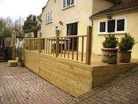 Tunbridge Wells Garden Decking Kent